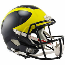 MICHIGAN WOLVERINES RIDDELL SPEED FULL SIZE REPLICA FOOTBALL HELMET