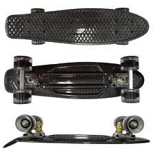 """Retro Cruiser Skateboards Board Complete 22"""" Penny Graphic Fiber Drift Boards"""