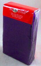Púrpura doble juego cubierta del edredón edredón 180 Hilos