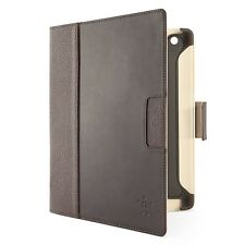 Belkin Cinema Leather Folio Case / Cover with Stand for the New Apple iPad Brown