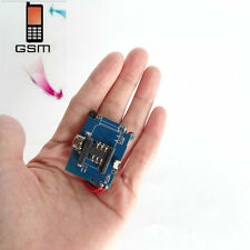 NEW Wireless Mini GSM Listening Listener Device Sim Card Spy Ear Bug Gadgets