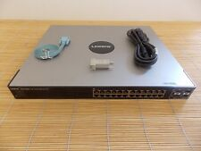 Cisco Linksys SGE2000P 24-port 10/ 100/ 1000 Gigabit Switch with PoE