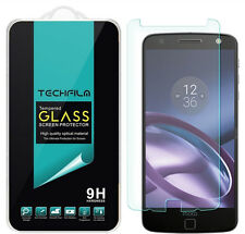 TechFilm® Tempered Glass Screen Protector Saver For Motorola Moto Z Droid
