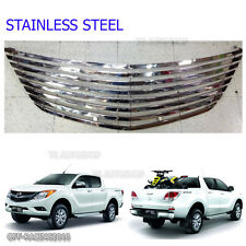 Stainless Steel Front GRILL GRILLE FOR MAZDA BT50 BT-50 PRO 2012-2014 2015 UTE