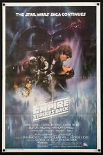 EMPIRE STRIKES BACK 1980 Style A 1sh Exc. condition ESB Star Wars filmartgallery