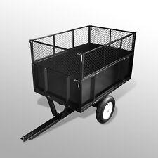 300kg Anhänger Aufsitzmäher Rasentraktor Quad kippbar