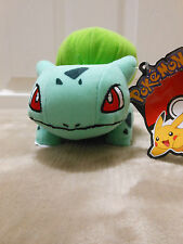 "Toy Factory 7"" Bulbasaur Plush Pokemon - New with Official Tags"