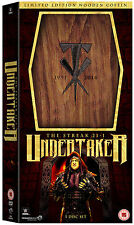 WWE THE UNDERTAKER The Streak 21-1 5x DVD LIMITED EDITION NUMBERED COFFIN BOX