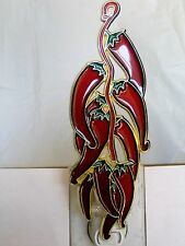 "Stained Glass Style ""Chilli-Pepper"" Night Light-Great Gift For All Occasions!"