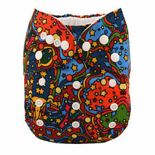 1 New STAR Baby Cloth Diaper Reusable Washable Adjustable Pocket Nappy Cover