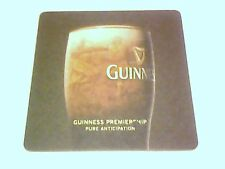 GUINNESS - LIVE RUGBY SERVED HERE  beermat / coaster -