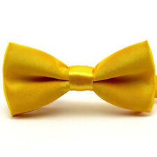 Kids Boy Child Solid Candy Color Pre-tied Bow Tie School Party Bowties TSBWT0043
