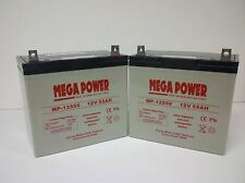 Hoveround Teknique RWD, FWD, GT Power Chair Batteries  MP12550-2