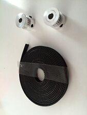 T2.5 Set: 2x T2.5 Pulley 16Z+ 2M T2.5 Band. 3D Drucker Versand gleicher Tag, Sam