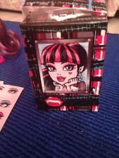 McDonalds Toy Monster High Draculaura Make Up Artist Set #6 NEW Opened for photo