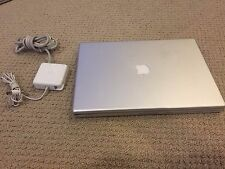 "Apple PowerBook G4 15"" Laptop A1106 with Power Adapter & New Battery Bundle 2"