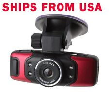 FULL HD Cars Camera DVR 1080P GPS G-Sensor Night Vision Red GS5000