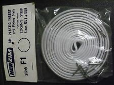 Edging strip insertHERZIM 8ft with fixing nails tables cupboards bathroom white