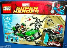 LEGO 76004 Spider-Man Spider-Cycle Chase ~ MARVEL SUPER HEROES ~RETIRED NIB