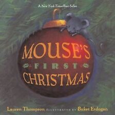 Mouse's First Christmas by Lauren Thompson (2003, Picture Book)