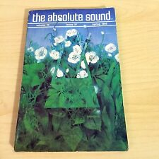 The Absolute Sound Issue Volume 10 Number 37, 1985 TAS Spendor SP-1 Speaker