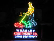 """New Weakley Equipment Animated Neon Sign 60""""W x 72""""H - Killer! - Must See Video!"""