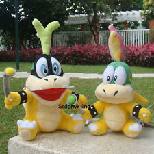 2 Pcs Super Mario Bros Koopalings Twins Iggy & Lemmy Koopa Bowser Plush Toy Doll