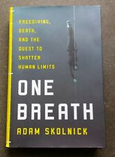 ONE BREATH  HARDCOVER  freediving spearfishing