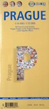 NEW- 2006 Borch MAP of PRAGUE, Czech Rep.~Indexed, Metro+Old Town& CastleDetails