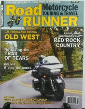 Road Runner Motorcycle Touring & Travel February 2017 Old West  FREE SHIPPING sb