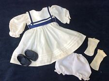 "American Girl Pleasant Company Samantha Shoes , Socks Bloomers 18"" Doll Dress"
