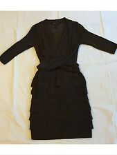 BCBG Maxazria wool dress brown chocolate Size small