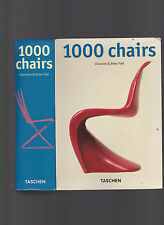 1000 Chairs, text by Charlotte & Peter Fiell, 2000, color ills., nice quality