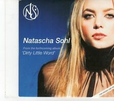 (FT828) Natascha Sohl, Dirty Little Word sampler - 2006 DJ CD