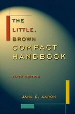 The Little, Brown Compact Handbook, Fifth Edition-ExLibrary