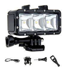 Underwater Dimmable LED Rechargeable Diving Video Light for Gopro Grand