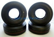 (4) 4.10 x 3.50 - 5 Go-Kart Cart GoKart GoCart Bar Stool Racer Slicks Tires