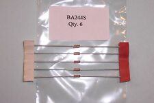Ba244s vhf / uhf 50mhz-1ghz band switching diodes Siemens nos Qté. 6