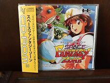 New Space Fantasy Zone for PC Engine Turbografx Turbo DUO