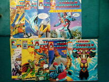 9 OFF THE TRANSFORMERS COMICS #141, 143-150 FROM NOV 1987 TO JAN 1988