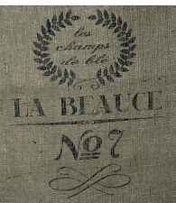 "18""x30"" French Grain Burlap Sack Repro  NEW 10 Oz Hydrocarbon Free Burlap Bag"