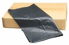 200 x BLACK BIN BAGS HEAVY DUTY LINERS REFUSE SACKS WASTE PLASTIC UK 100G GAUGE