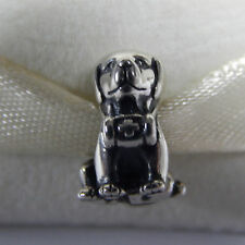 New Authentic Pandora Charm 791515 Sterling Silver Mountain Dog Bead Box Include