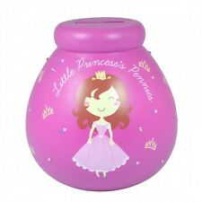 Pot Of Dreams Little Princess Pennies Girls Money Pot Saving Box Piggy Bank Gift