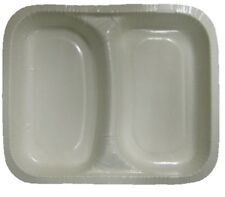 50 Disposable Microwave Containers Double compartment only 10p Each