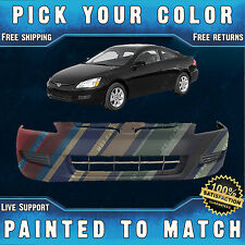 NEW Painted To Match - Front Bumper Cover For 2003 2004 2005 Honda Accord Coupe