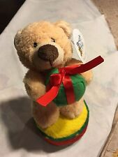 Christmas Bear on Drum Soft, The Beverly Hills Teddy Bear Company & Wrapped gift