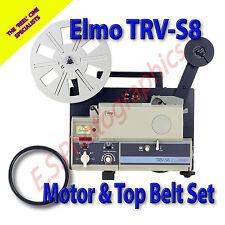 ELMO TRV- S8 Super 8mm Transvideo Projector Belts Set of 2
