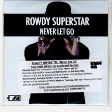 (EH771) Rowdy Superstar, Never Let Go - 2012 DJ CD