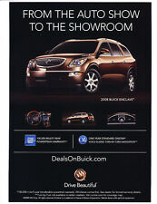 2008 Buick Enclave Intro  - Classic Car Advertisement Print Ad J110